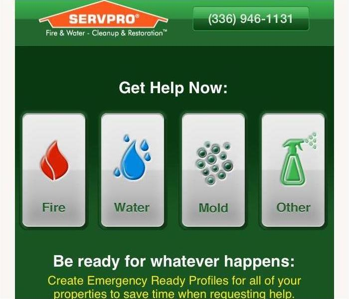 Commercial Plan for a disaster with the SERVPRO ERP App