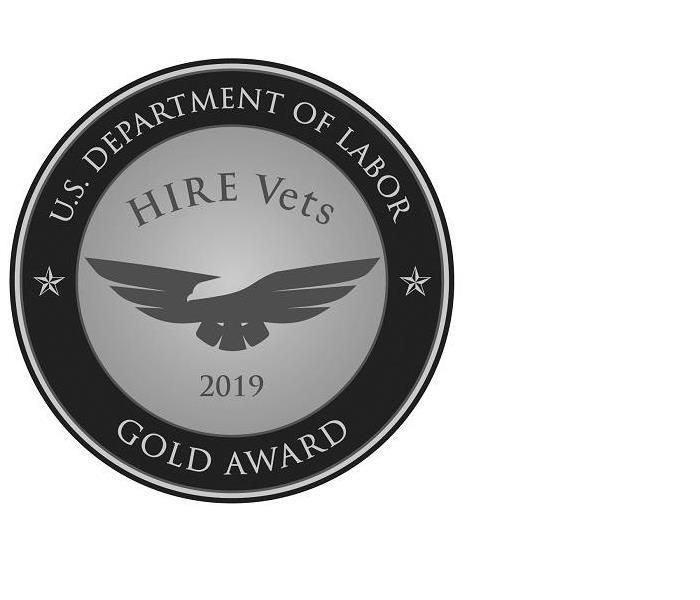US Dept of Labor Gold award