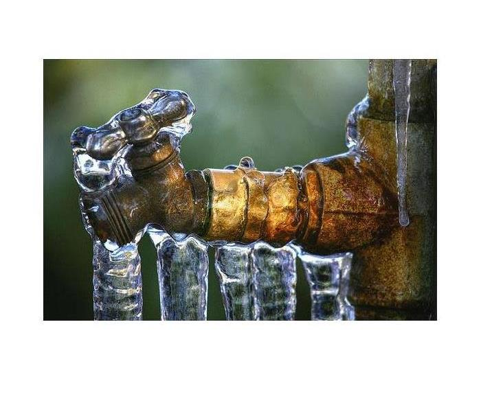 Water Damage Frozen Pipe and Spigots are you prepared?